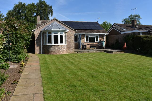 Thumbnail Detached bungalow for sale in Millbrook Close, Child Okeford, Blandford Forum
