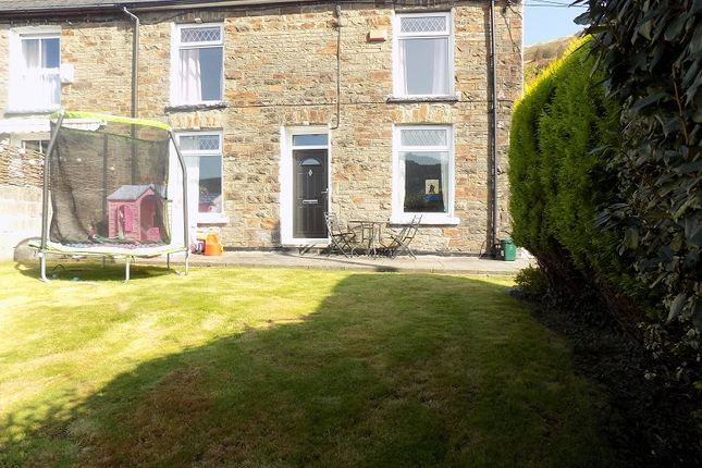Thumbnail Semi-detached house for sale in Oak Street, Treorchy, Rhondda Cynon Taff.