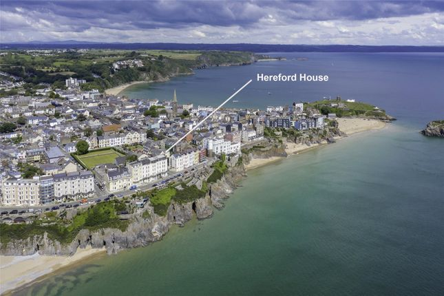 Thumbnail End terrace house for sale in Hereford House, Sutton Street, Tenby, Pembrokeshire