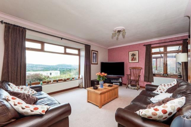 Living Room of John Street, Higher Heyrod, Stalybridge, Greater Manchester SK15