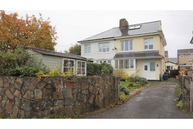 Thumbnail Semi-detached house for sale in North Park Villas, Saltash