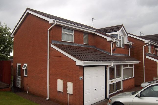 Thumbnail Detached house to rent in Byfleet Close, Bilston