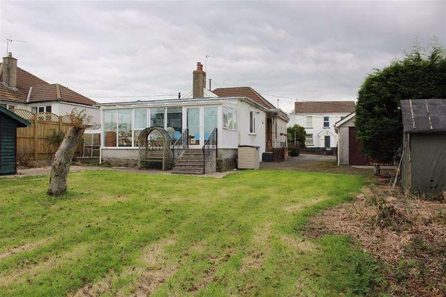 Thumbnail Detached bungalow for sale in Tirmynydd Road, Three Crosses, Swansea