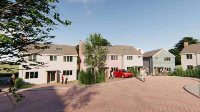 CGI Development of Forder Lane, Dartington, Totnes TQ9
