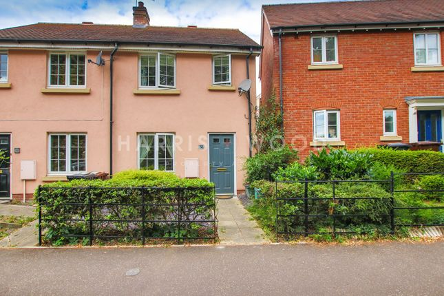 Thumbnail End terrace house for sale in Dickenson Road, Colchester