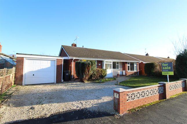 Thumbnail Detached bungalow for sale in Lacon Drive, Wem, Shrewsbury
