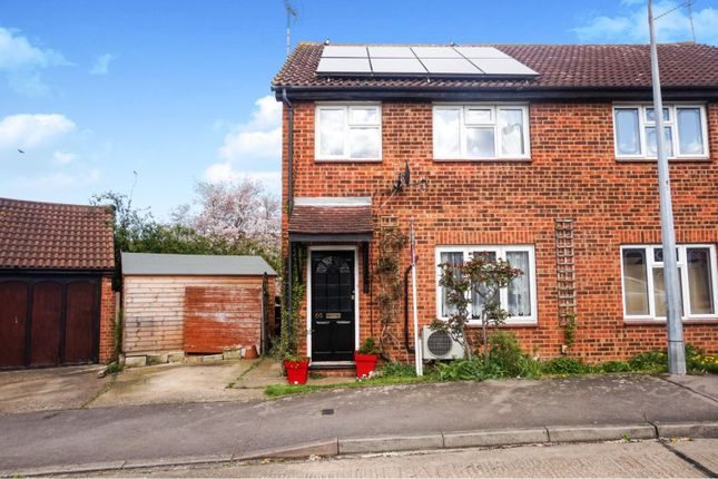 Thumbnail Semi-detached house for sale in Buckingham Road, Hockley