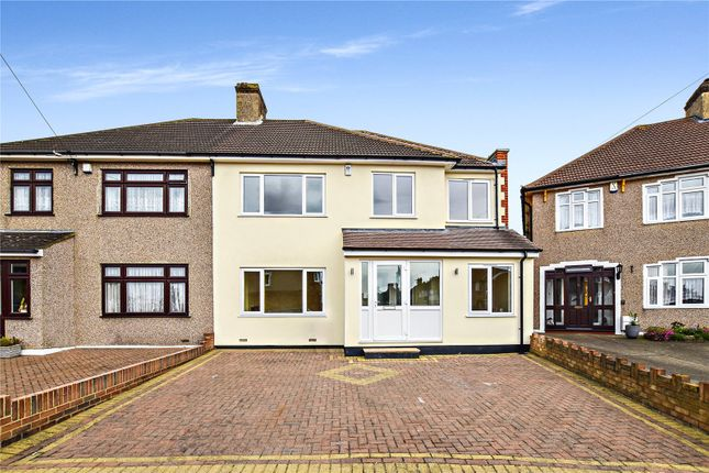 Thumbnail Semi-detached house for sale in Barrington Road, Bexleyheath, Kent