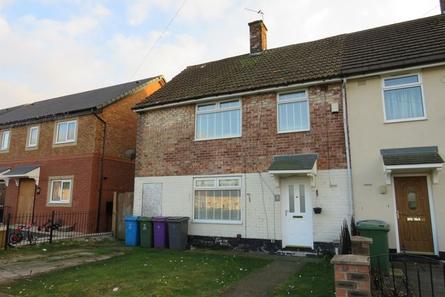 Thumbnail End terrace house for sale in Burnage Close, Speke, Liverpool