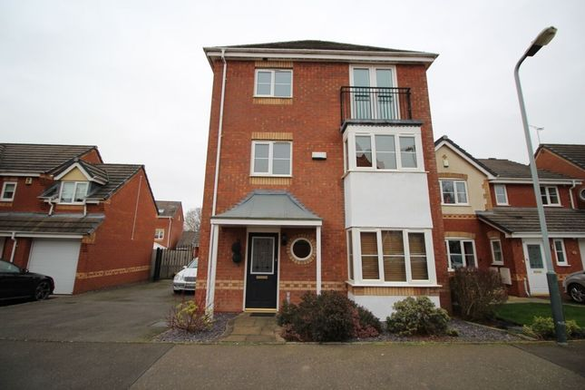 Thumbnail Detached house to rent in Orchid Close, Bedworth