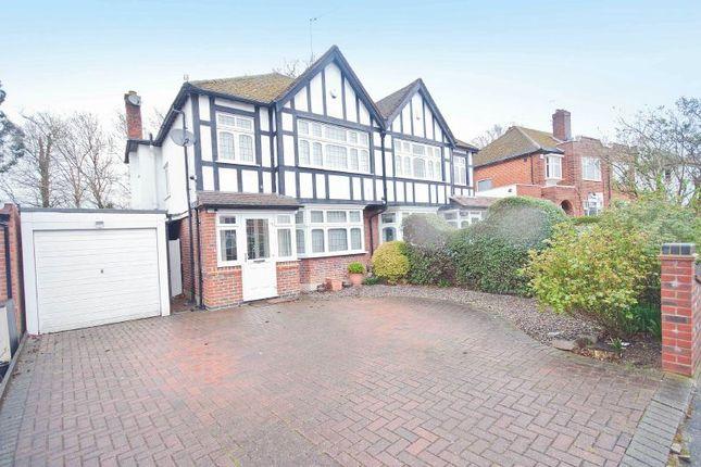 Thumbnail Semi-detached house for sale in Pamela Gardens, Pinner, Middlesex