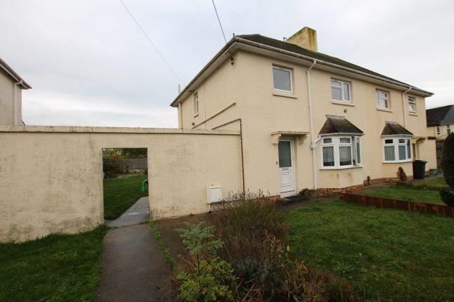 Thumbnail Maisonette to rent in Captains Road, Kingsteignton, Newton Abbot