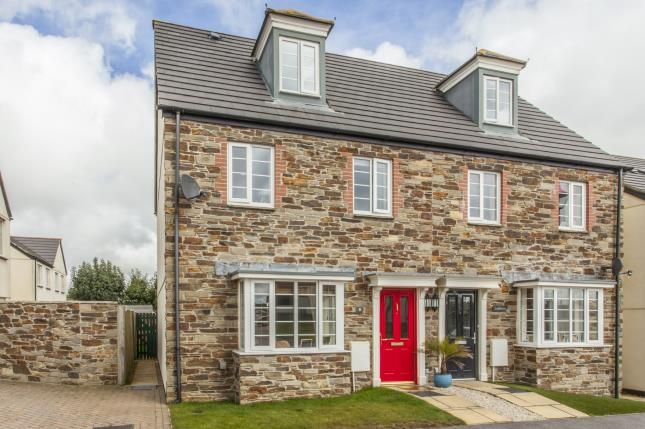 4 bed semi-detached house for sale in Trispen, Truro, Cornwall