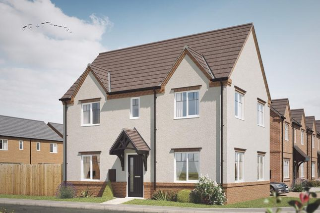 Thumbnail 3 bedroom detached house for sale in Acresford Road, Overseal, Swadlincote