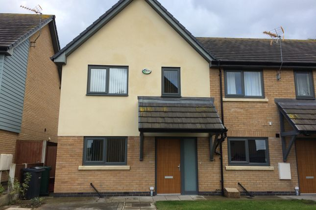 Thumbnail End terrace house to rent in Overton Green, Frodsham
