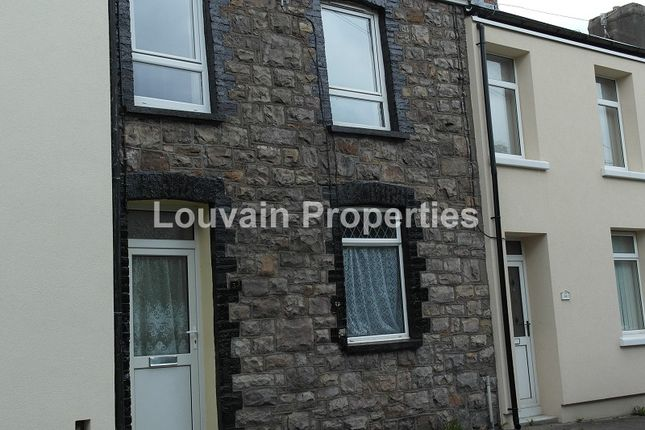 Thumbnail Terraced house to rent in Park View, Waunlwyd, Ebbw Vale, Blaenau Gwent.