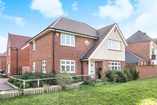 Thumbnail Detached house for sale in Waxwing Park, Bracknell