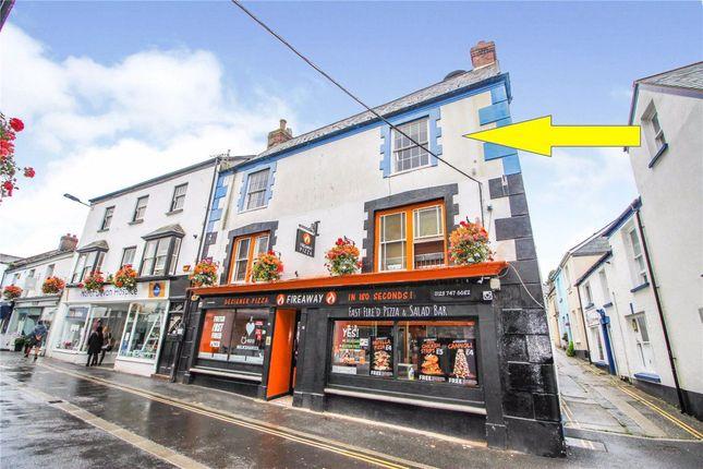 1 bed flat to rent in - Mill Street - Top Flat, Bideford, Devon EX39