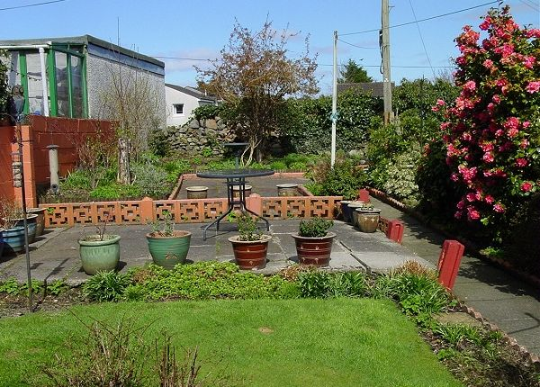 Garden of 7 Station Road, Newton Stewart DG8