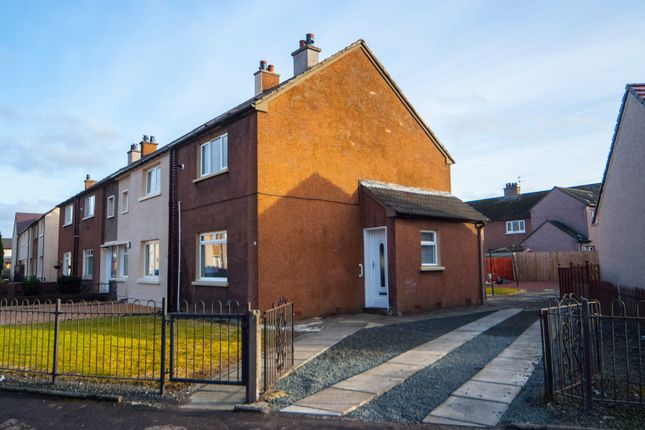 Thumbnail End terrace house for sale in Affric Drive, Falkirk