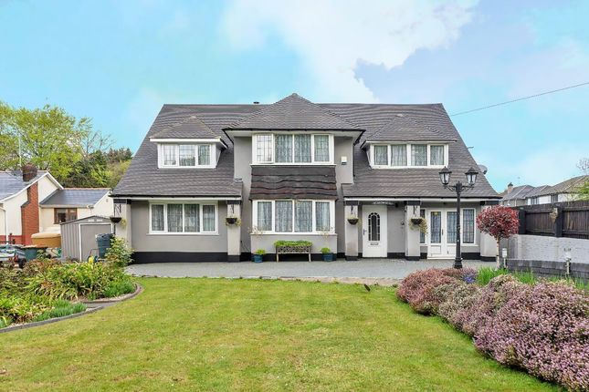 Thumbnail Detached house for sale in Bassaleg Road, Newport, Gwent