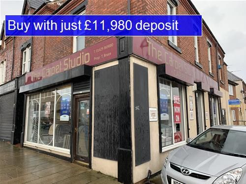 Retail premises for sale in York Road, Hartlepool
