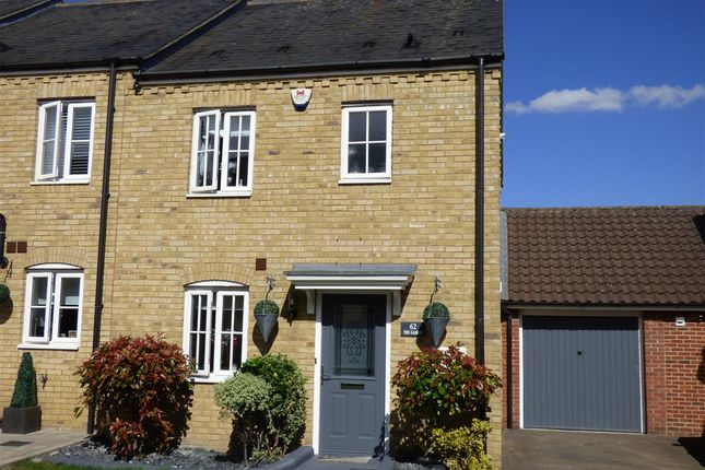 Thumbnail End terrace house for sale in The Gables, Ongar
