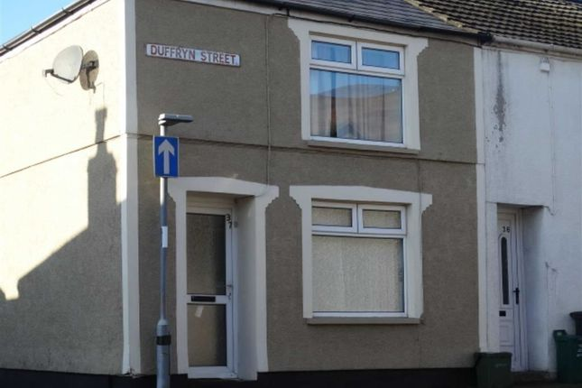 Thumbnail End terrace house to rent in Duffryn Street, Mountain Ash, Rhondda Cynon Taf