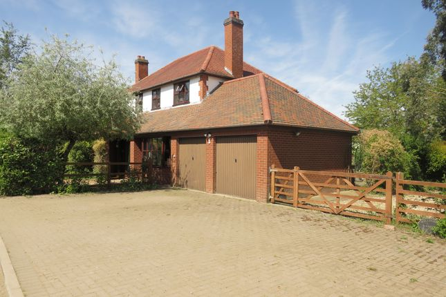 Thumbnail Detached house for sale in Walks Road, Silk Willoughby, Sleaford