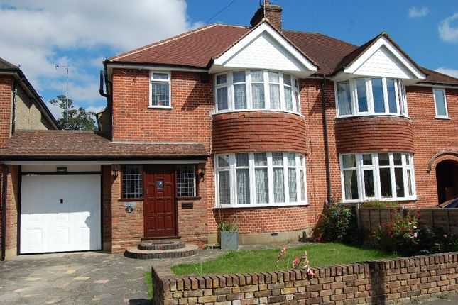 Thumbnail Semi-detached house to rent in Orchard Drive, Watford