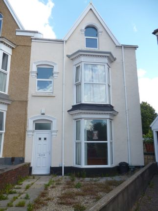 Thumbnail Terraced house to rent in Gwydr Crescent, Uplands, Swansea