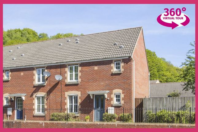 Thumbnail End terrace house for sale in Mill Court, Hafodyrynys, Crumlin, Newport
