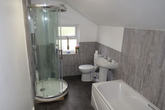 Bathroom: of West View, Rocester, Uttoxeter ST14