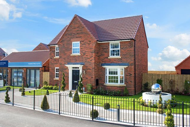 "Thumbnail Detached house for sale in ""Mitchell"" at Barnsley Road, Flockton, Wakefield"