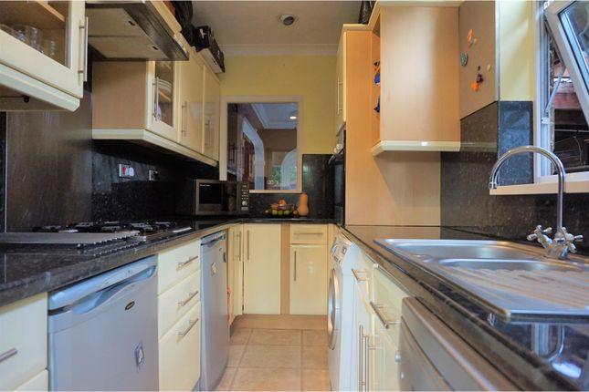 Kitchen of Cranleigh Gardens, London N21