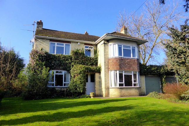 Thumbnail Country house for sale in Burrettgate Road, Walsoken, Norfolk