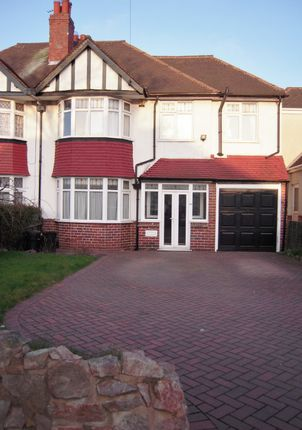 Thumbnail Semi-detached house to rent in Bournbrook Road, Selly Oak, Birmingham