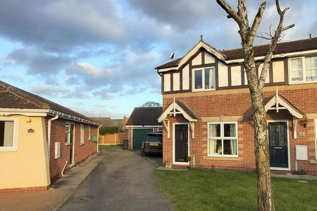 Thumbnail Semi-detached house for sale in Lime Close, North Duffield, Selby