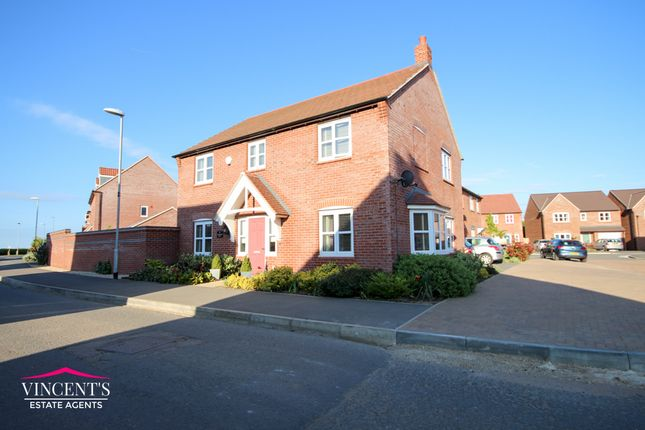 Detached house for sale in Lockeymead, Desford, Leicester