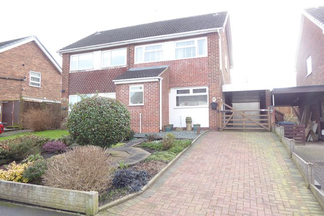 3 bed semi-detached house for sale in Laburnum Road, Newhall DE11