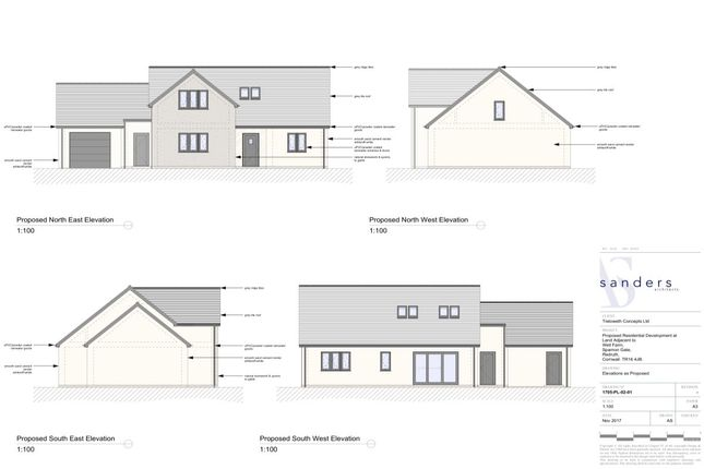 Thumbnail Bungalow for sale in Sparnon Gate, Redruth