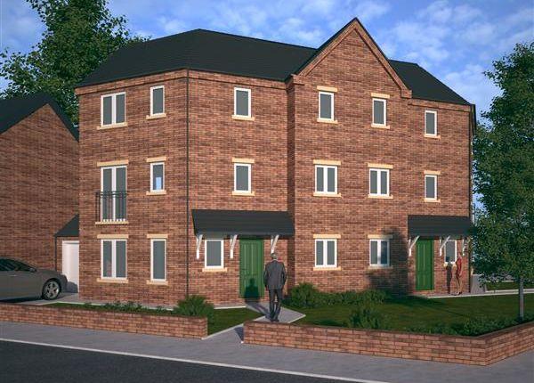Thumbnail End terrace house for sale in 'the Brocton', Birch Lane, Pelsall