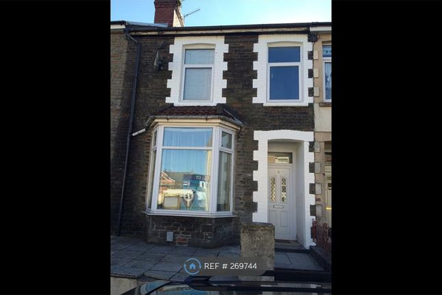 Thumbnail Terraced house to rent in Oliver Terrace, Pontypridd