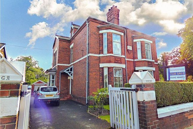 Thumbnail Semi-detached house for sale in Normanby Road, Normanby, Middlesbrough