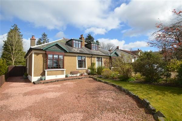 Thumbnail Semi-detached house for sale in Alexandra Road, Lenzie, Glasgow