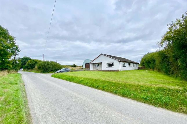 Detached bungalow for sale in Bowls Road, Blaenporth, Cardigan, Ceredigion