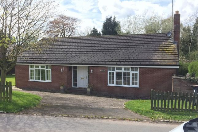Thumbnail Bungalow for sale in Turnpike, The Holborn, Madeley, Staffordshire