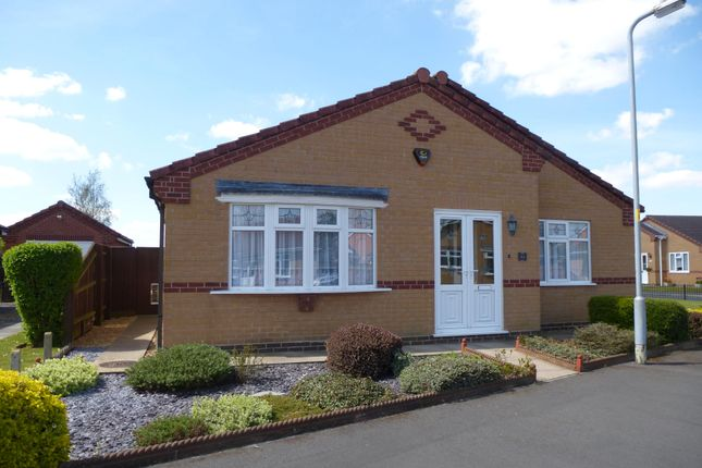 Thumbnail Detached bungalow to rent in The Sidings, Long Sutton, Spalding