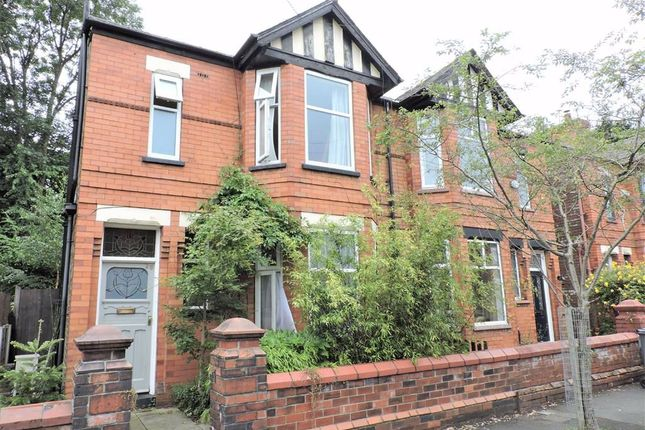 Outside of Woodland Road, Burnage, Manchester M19