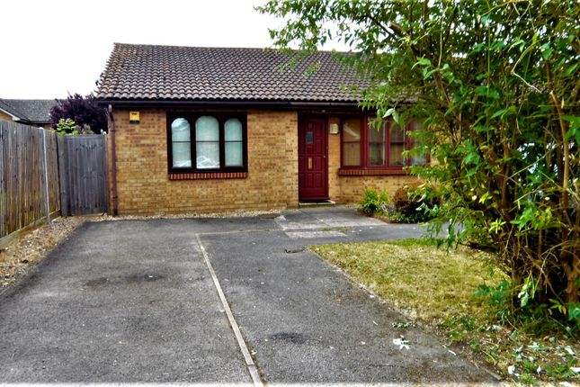 Thumbnail Semi-detached bungalow for sale in Meadow View, Hithermoor Road, Staines